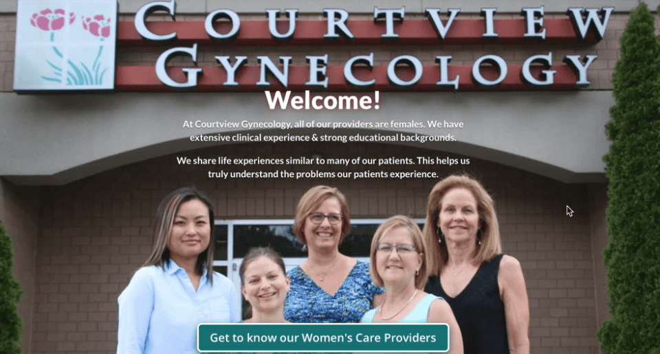 Courtview Gynecology serving Gastonia NC Women health care provider.